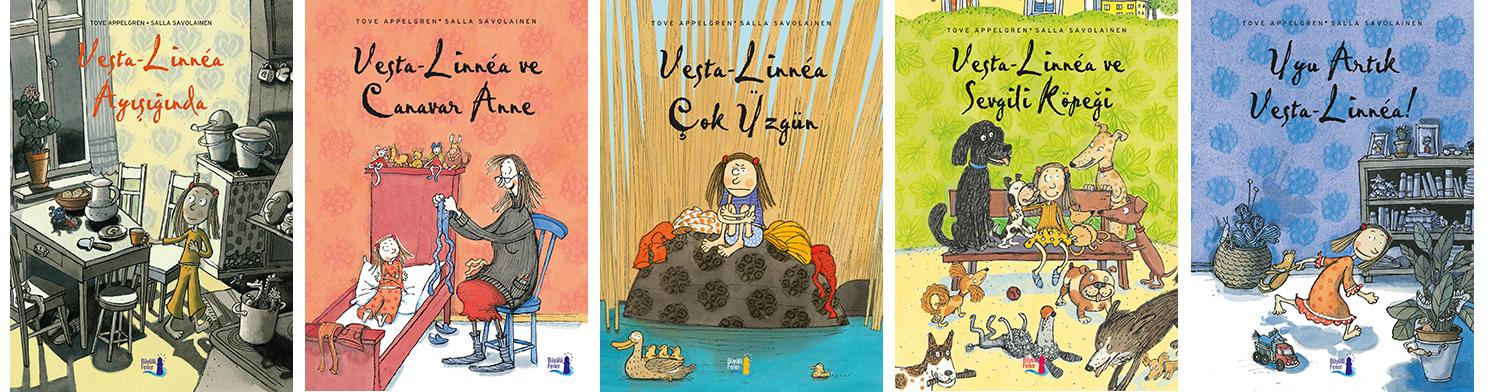 Vesta-Linnéa Serisi Tove Appelgren Resimleyen: Salla Savolainen Türkçeleştiren: Ali Arda Büyülü Fener Yayınları