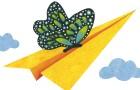 Kıvrık kâğıt uçabilir mi?