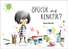 Öpücük Ne Renktir? Yazan ve Resimleyen: Rocio Bonilla Türkçeleştiren: Müren Beykan Günışığı Kitaplığı, 32 sayfa