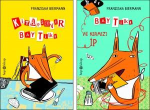 Kitapsever Bay Tilki Bay Tilki ve Kırmızı İp Franziska Biermann Türkçeleştiren: Süheyla Kaya Hep Kitap, 64 sayfa