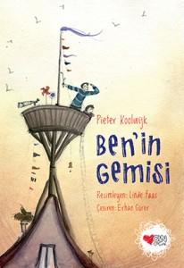 Ben'in Gemisi Pieter Koolwijk Resimleyen: Linde Faas Türkçeleştiren: Erhan Gürer Can Çocuk Yayınları, 64 sayfa
