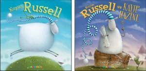Koyun Russell Koyun Russell ve Kayıp Hazine  Rob Scotton Türkçeleştiren: Senem Onan Mandolin Yayınları, 32 sayfa