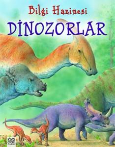 Bilgi Hazinesi – Dinozorlar Julia Bruce Resimleyen: Peter Scott Çeviren: Ömür Özyurt 1001 Çiçek Kitaplar, 32 sayfa