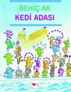 Kedi Adası  Behiç Ak  Can Çocuk Yayınları, 32 sayfa